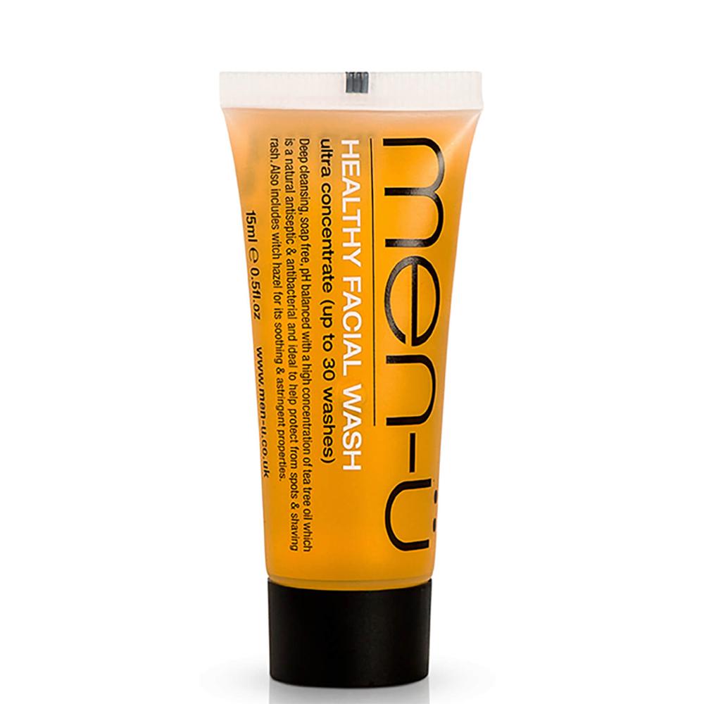 Men-U Healthy Facial Wash Tube 15ml