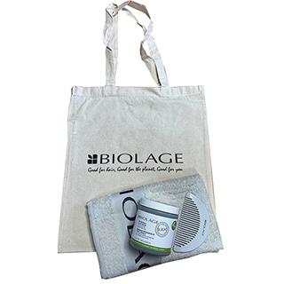 Biolage RAW Re-Bodify Clay Mask Gift Bundle - For Flat, Fine Hair