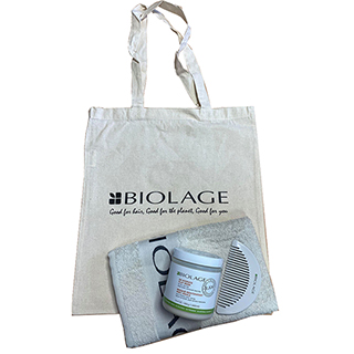 Biolage RAW Re-Hydrate Clay Mask Gift Bundle - For Dry, Dull Hair