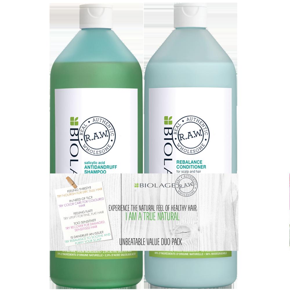 Biolage RAW Scalp Rebalance Litre Duo Pack