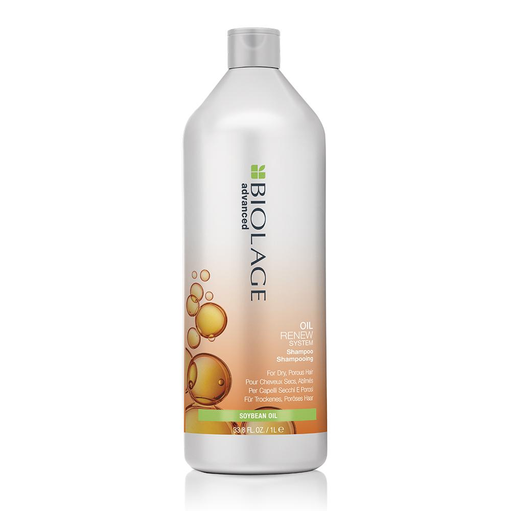 Advanced Biolage Oil Renew Shampoo 1000ml