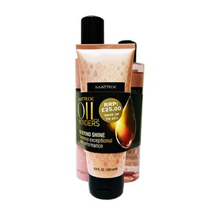 Oil Wonders Volume Rose Gift Trio - Mousse