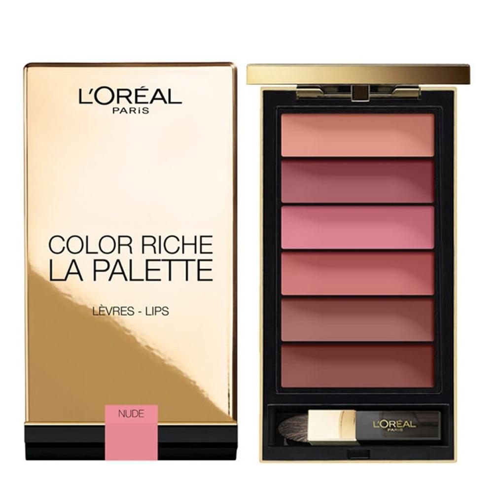 Loreal Paris Color Riche Lip Palette Nude