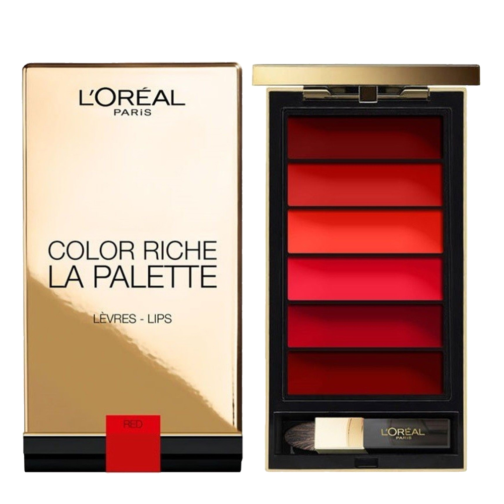 Loreal Paris Color Riche Lip Palette Rouge