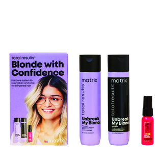 Total Results 2021 Unbreak My Blonde Trio Gift Set