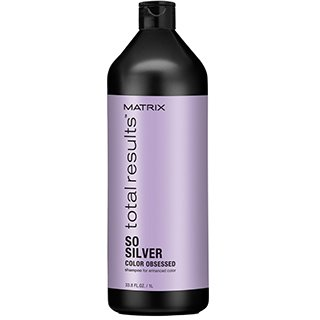 Total Results Color Obsessed So Silver Shampoo 1000ml