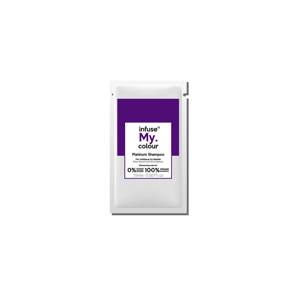 New Infuse My Colour Sachet Platinum Shampoo 15ml
