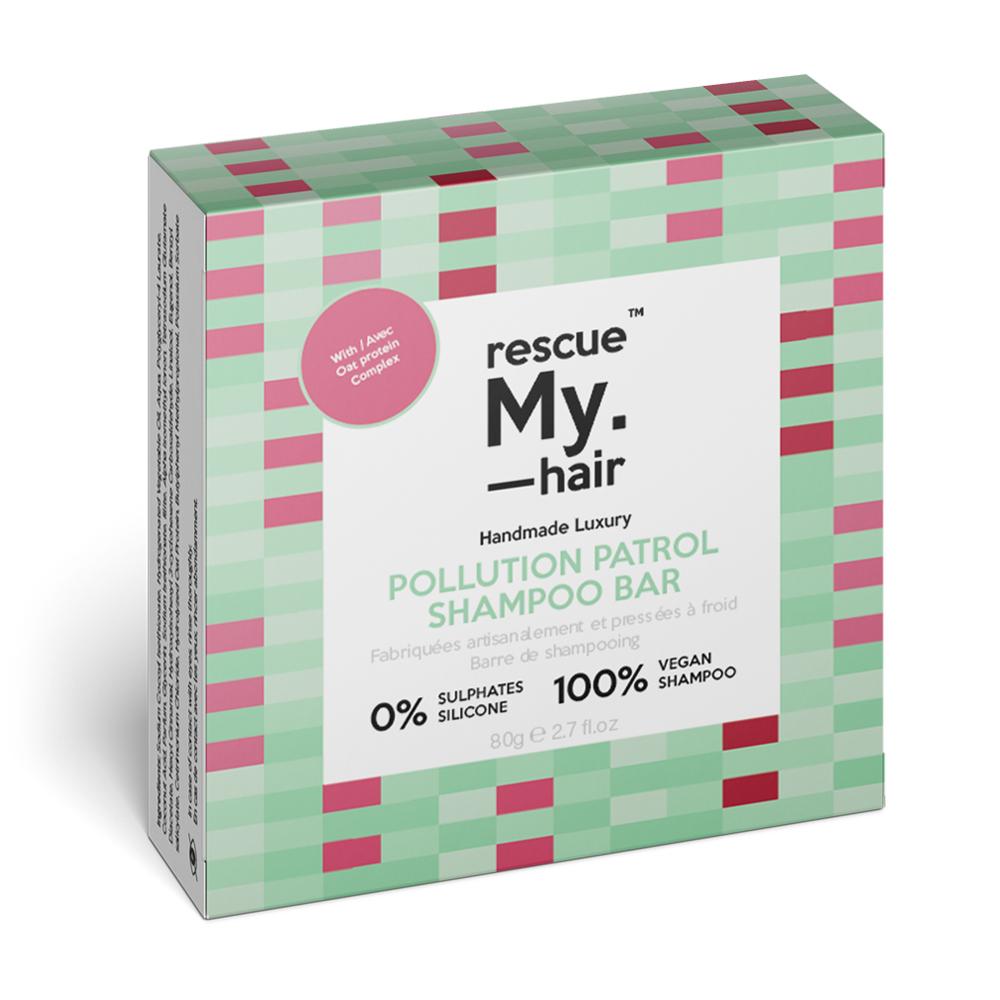 New Rescue My Hair Pollution Patrol Shampoo Bar 80g