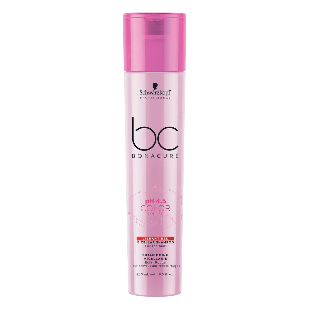 Bonacure pH 4.5 Color Freeze Red Shampoo 250ml