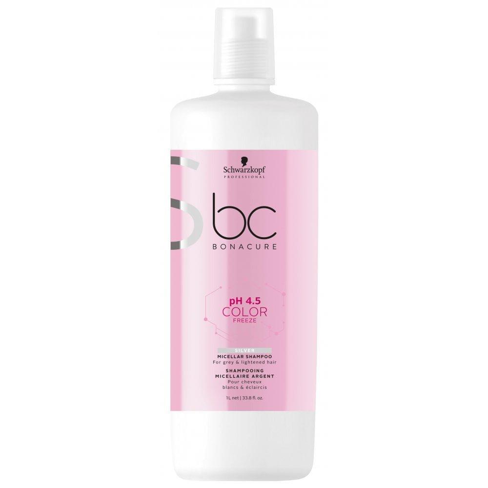 Bonacure pH 4.5 Color Freeze Silver Shampoo 1 litre
