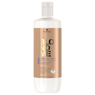 BlondeMe Care Cool Blonde - Purple Neutralising Shampoo 1000ml