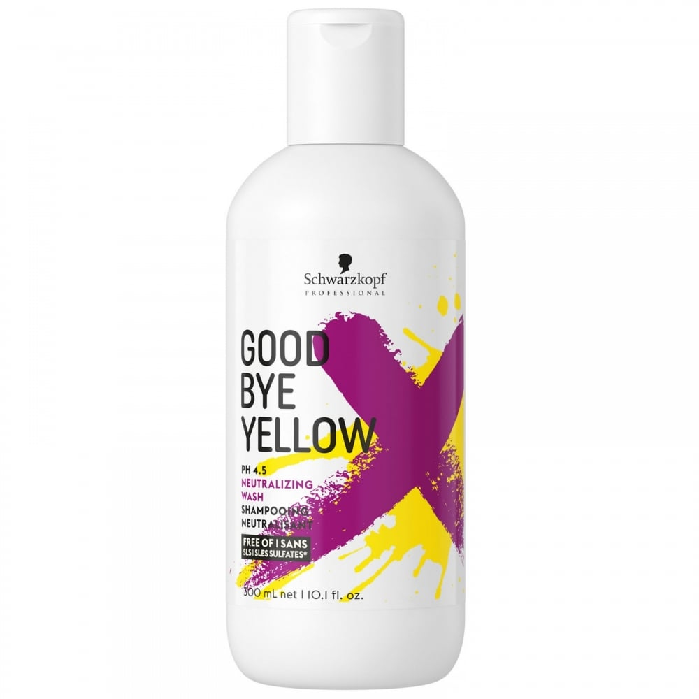 Schwarzkopf Goodbye Yellow 300ml Shampoo