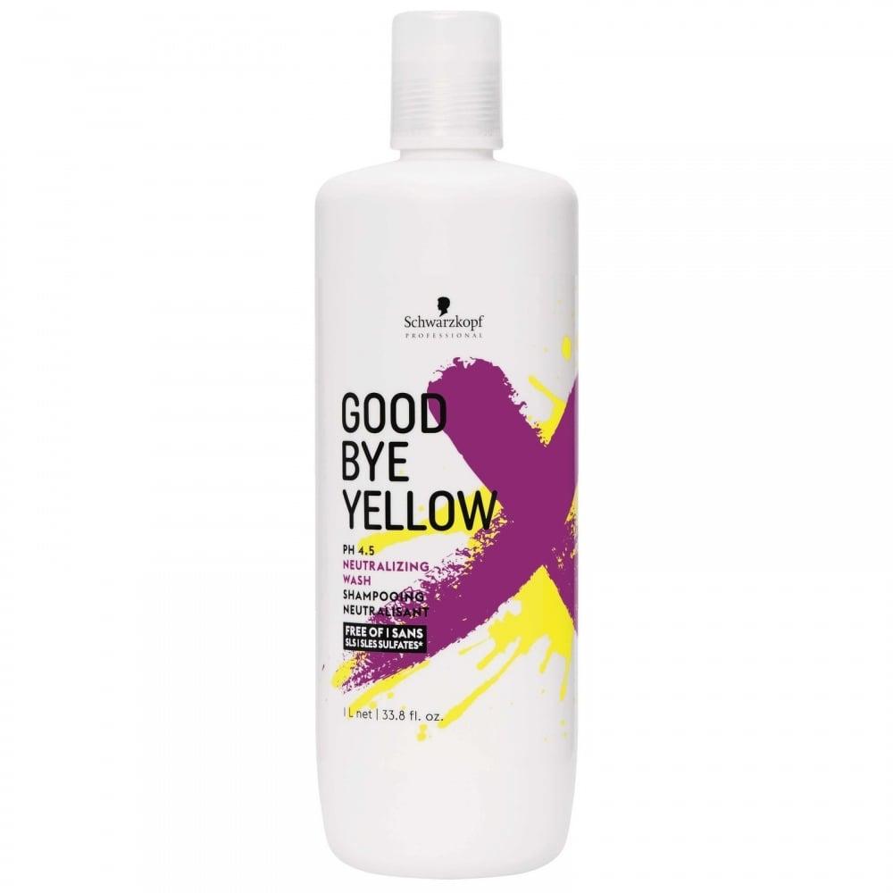 Schwarzkopf Goodbye Yellow Shampoo 1000ml