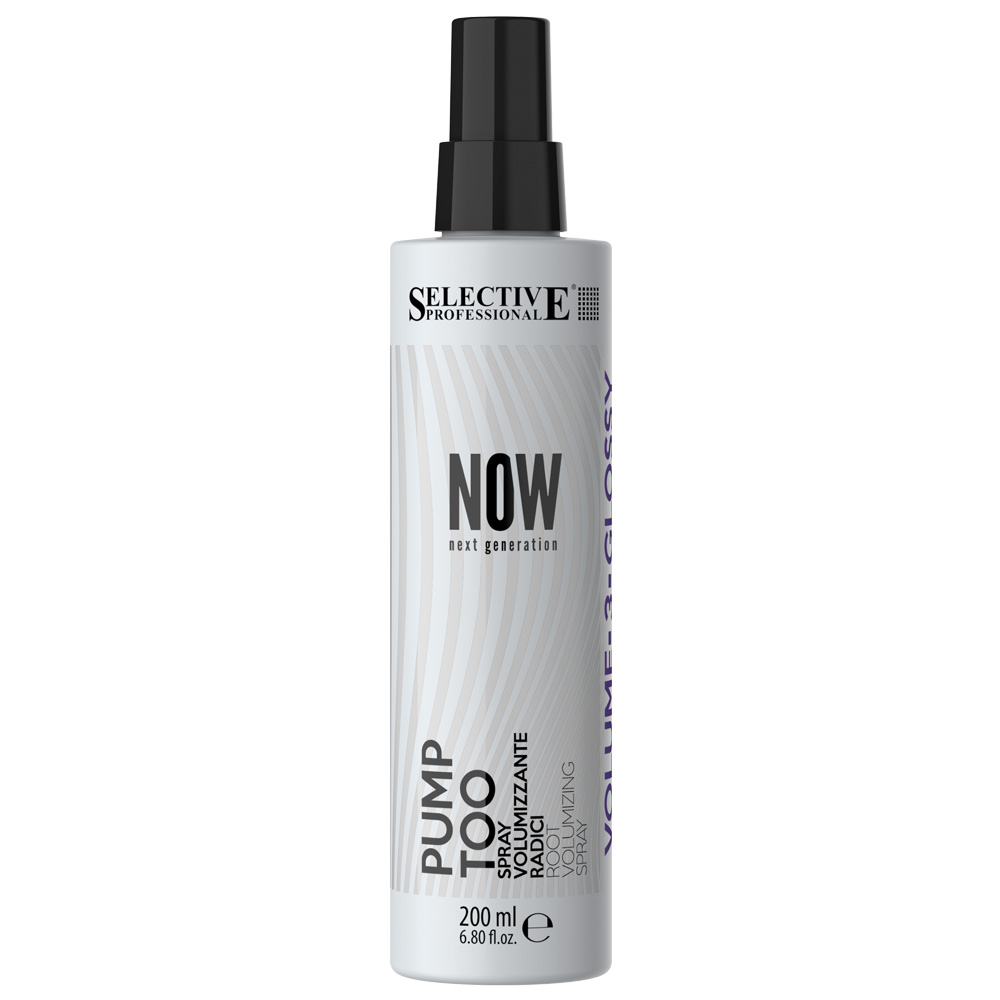 New NOW Styling - Pump Too Root Volumising Spray 200ml