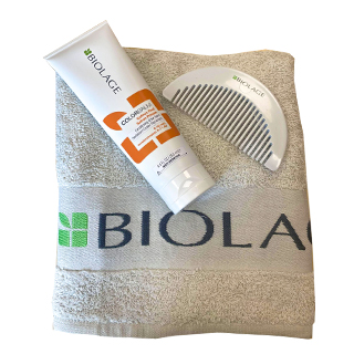 Biolage Grey Towel & Comb - Free with Biolage Colorbalms