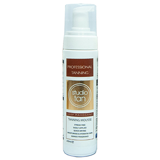 Studio Tan - Deep Mahogany Self Tanning Mousse 200ml