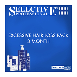 Selective Professional Excessive Hair Loss Pack - 3 Months