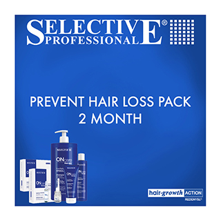 Selective Professional Prevent Hair Loss Pack - 2 Months