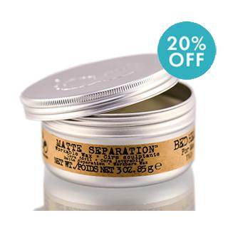 Bed Head For Men - Matte Separation Wax 75g