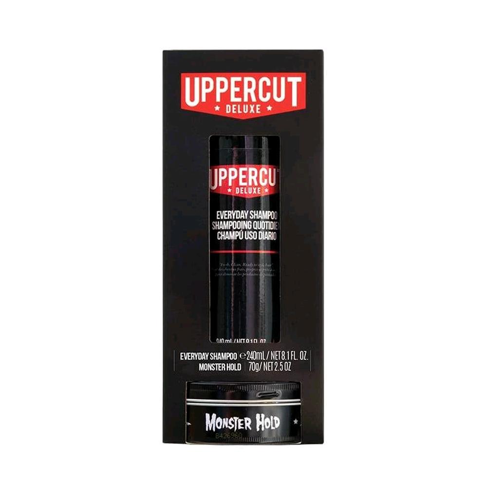 Uppercut Shampoo/Monster Hold Duo Kit