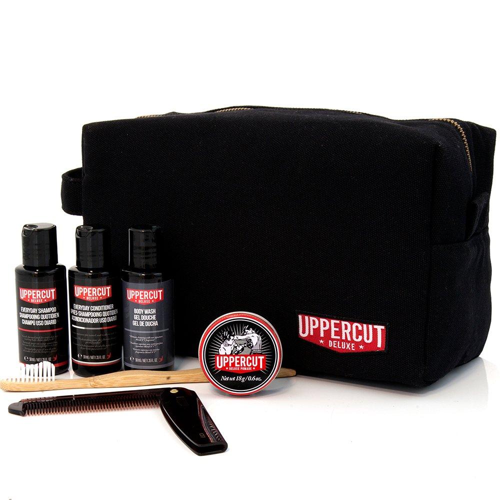 Uppercut Filled Black Washbag