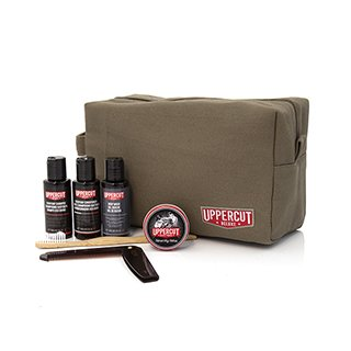 Uppercut Filled Army Green Washbag
