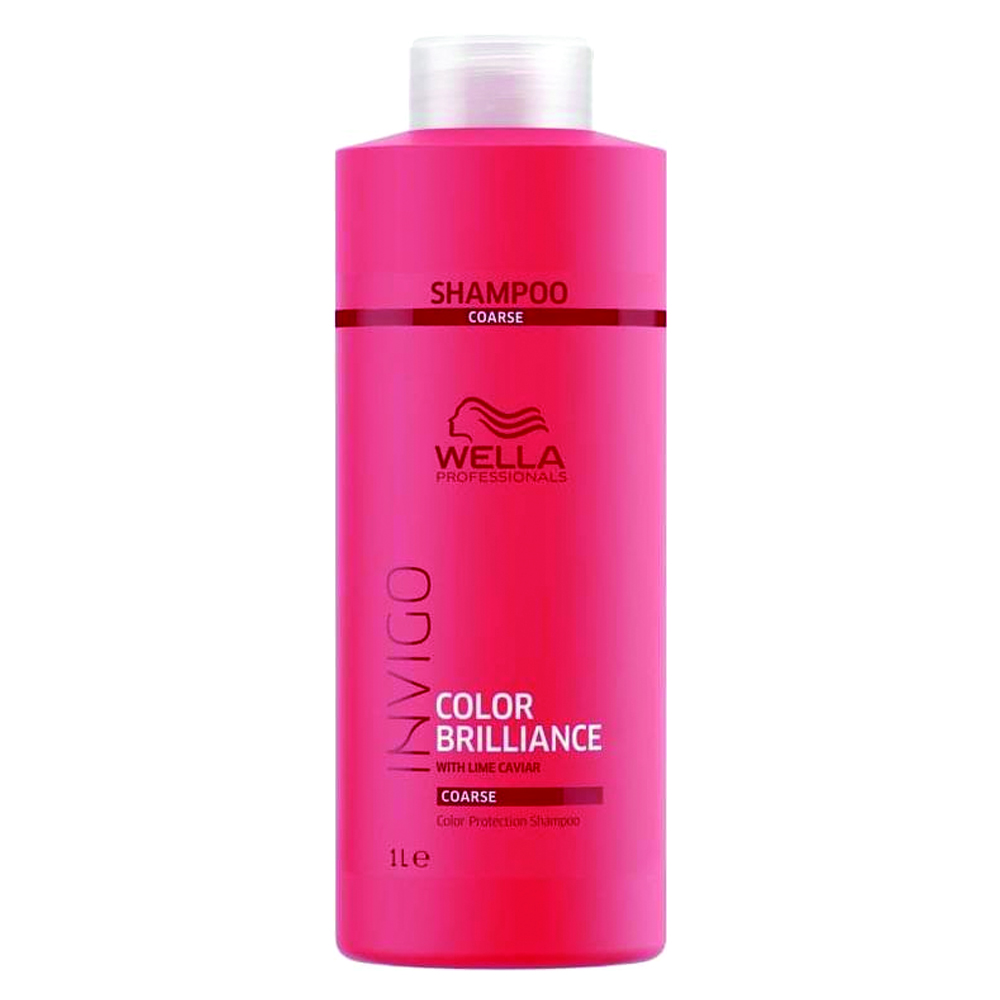 Wella Invigo Color Brilliance Shampoo Coarse 1 Litre